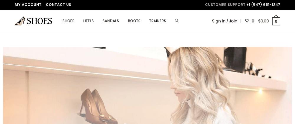 Wordpress WooCommerce Website