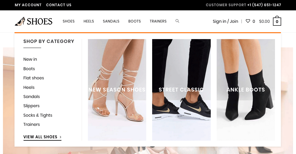 WooCommerce Shop Website